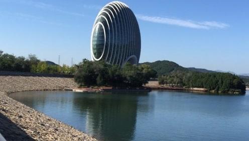 北京雁栖湖的风景,酷似人间仙境,美不胜收