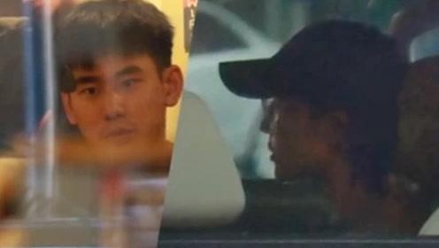 张钧甯与小鲜肉深夜约饭谈心 发现偷拍从后门快速离开