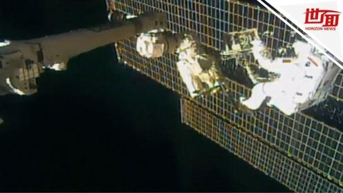 NASA最复杂舱外任务:修理粒子探测器 耗资20亿美元