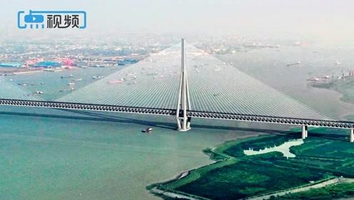 一桥三用!江苏又一世界级跨江工程:常泰长江大桥全面开工
