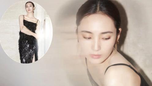 """不愧是""""厂花""""的人 王紫璇穿亮片开叉裙 配流苏耳环美得惊艳"""