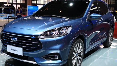 福特推出新SUV,命名为锐际,车长4米5,配2.0T四缸+8AT变速箱