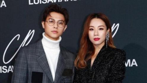 邓丽欣王子情侣档甜蜜拍广告 网友提问何时结婚
