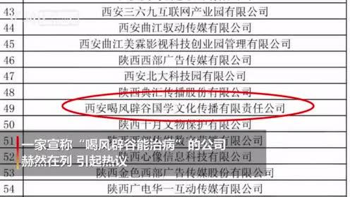 """西安""""喝风辟谷公司""""已暂停营业工商部门介入调查"""