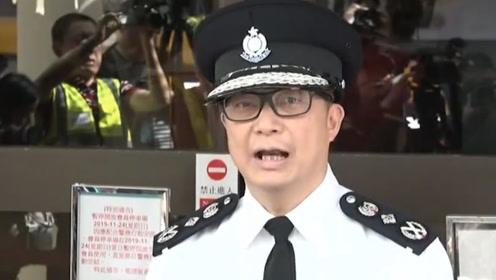 """不让理工大涉事者离开香港?港警新""""一哥""""邓炳强:假消息!"""