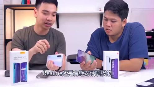 红米Note8Pro迎来强敌RealmeXT,同是6400万四摄镜头