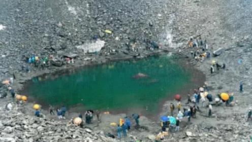 """河南一座水库,水位一夜下降数百米,专家赶到挖出一""""大鼎""""!"""