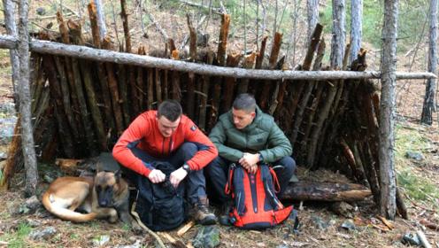 徒步丛林,如何搭建庇护所过夜?很重要的生存技能