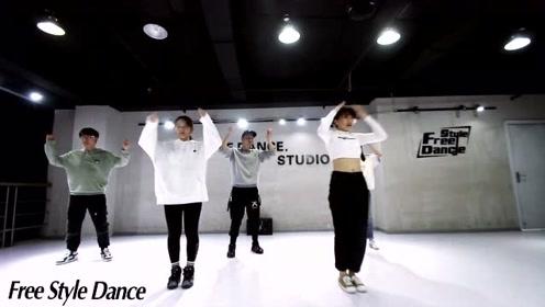 自由流行舞基地hiphop课程/舞蹈开车舞学员展示