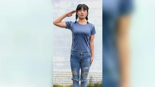 退伍女兵回村后每日高强度训练5小时:脱下军装,我还是个兵