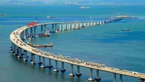 港珠澳大桥蜿蜒曲折,为何不设计成直的,岂不是更省材料?