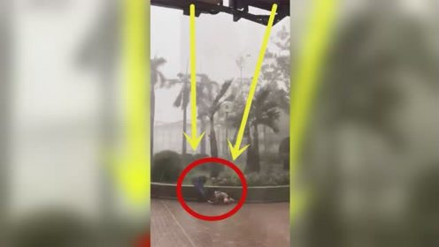 台风来袭,人们瞬间流离失所,监控曝光疯狂全程!