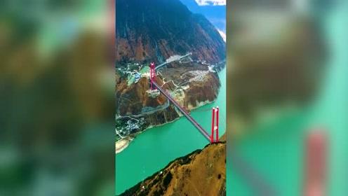 川藏高速雅康隧道,雅康特大桥,川藏第一桥