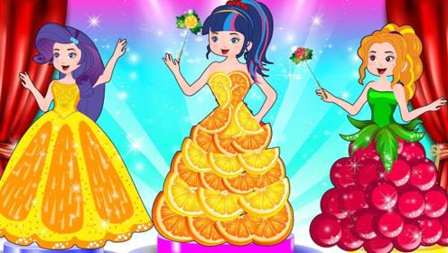女孩的水果卖不出去,制作成水果裙子后卖出高价,太有才了!