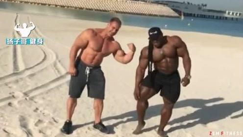卡特和格林教你在迪拜沙滩上