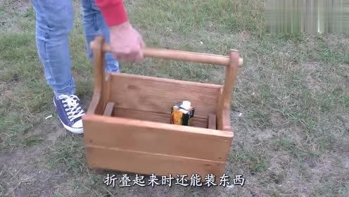 男子把木板拼在一起,原以为是个盒子,看到成品后觉得值了!