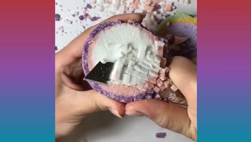 艺术香皂随心玩:彩色香皂放松切 好心情