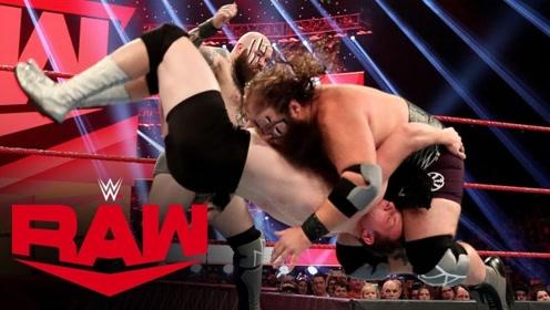 【RAW1384期】给维京战士安排当地选手的结果 是被单手拎圈扫擂台