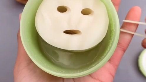 美妆界最小的面膜一张脸需要敷十片,真的太卡哇伊了!