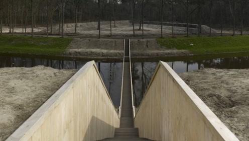 """全球最""""奇葩""""的桥,因为工人拿反设计图,将错就错造就桥梁奇迹"""