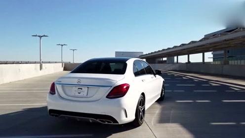 大气优雅范儿 实拍欣赏奔驰C级C450