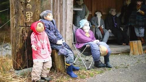 """最""""诡异""""的村庄,全村仅300个玩偶和一个人,看后敢去吗?"""