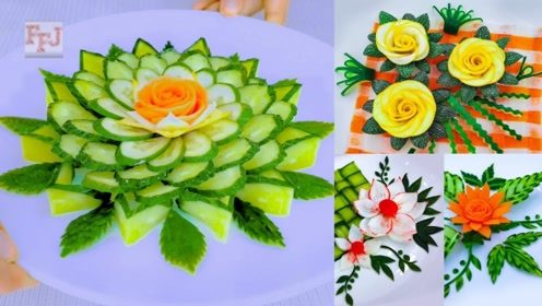 趣味小制作:做漂亮黄瓜花朵