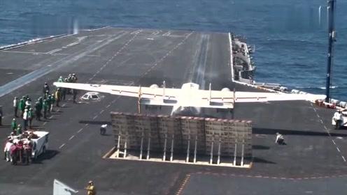 美国先进的战斗机,航母上起飞壮观景象,好震撼!