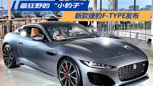 最狂野的小豹子,新款捷豹F-TYPE发布
