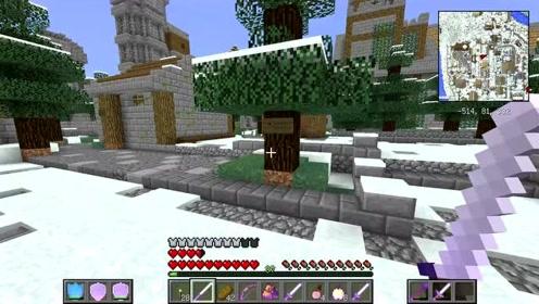 血舞解说我的世界英雄黎明4烈焰之火24 进入雪原城下水道