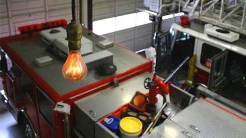 使用寿命最长的灯泡,足足亮了115年,中间仅断过两次电