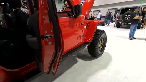 海外车展实拍2020款Jeep Gladiator