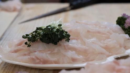 路边摊生鱼片你吃过吗?美味不输五星饭店