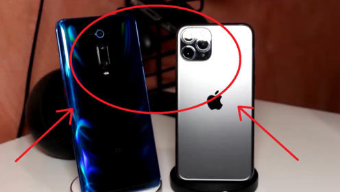小米9TPro有夸得那么好吗?与iPhone11放在一起,还是有差距的