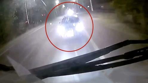 河南90后男子醉驾逆行撞货车当场死亡!记录仪拍下事发瞬间