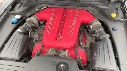 外国大叔带你欣赏法拉利 599 GTO的车尾