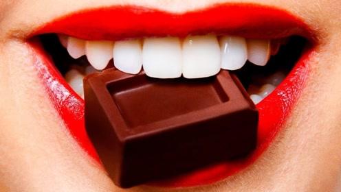 个头不大的巧克力,却没有一个人能吃完,什么原因?