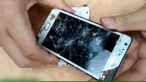 废旧智能手机的维修修理过程,手艺真不错,焕然一新!