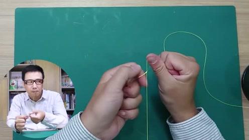 钓鱼教学,如何快速绑FG结,路亚前打铁板必学线结