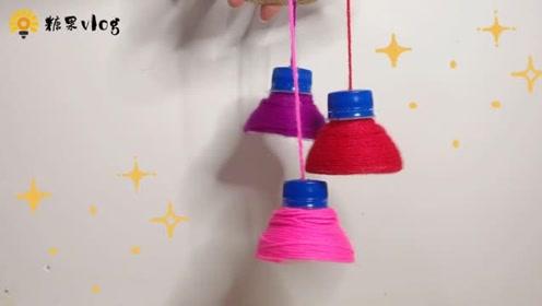 塑料瓶做一个小装饰品,朋友看到都羡慕!