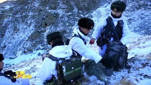 零下30℃冰雪边关巡逻路 驻守在中哈边境上的达尔汗边防连