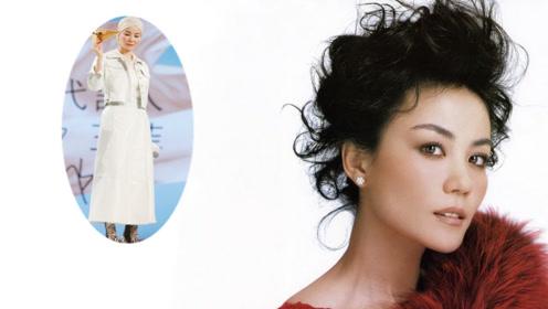 王菲罕见公开亮相状态太好 50岁的她打扮得好似复古名伶