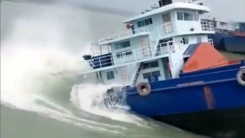 刚出仓的轮船就这样下水,难道不怕报废吗