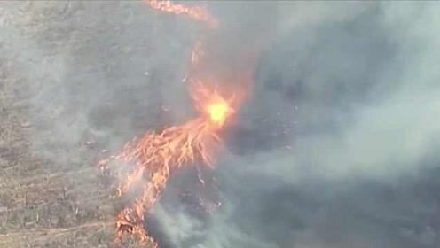 山火持续蔓延!澳大利亚出现恐怖火龙卷:有史以来最严重火灾