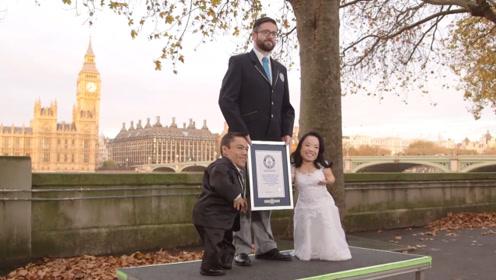 世界上最矮的夫妻,两人身高不足0.9米,生活却让无数人羡慕!
