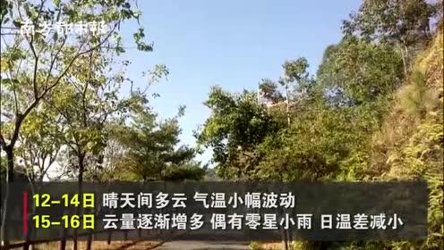 升温了!熬过被冻哭的日子,广东最高气温重返20℃+