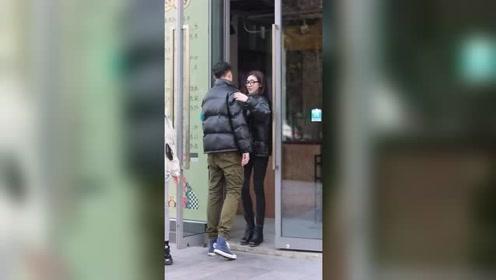 小哥哥:谁不知道你高,可惜媳妇就在旁边,小姐姐对不起了