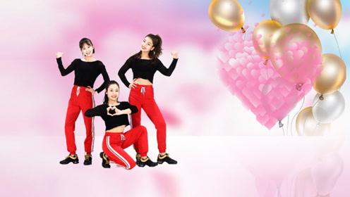 糖豆广场舞课堂《爱的666》动感时尚健身,歌曲好听