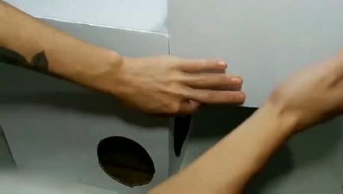 牛人用硬纸板DIY成的变形金刚,变身那一刻我就被惊艳到了!