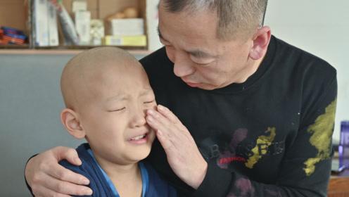 """""""爸爸,求你再救我一次"""",父母欲放弃治疗,儿子却死抓门框不肯放手"""
